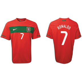 JERSEY PORTUGAL HOME RONALDO#7 (RETRO WORLDCUP 2010) CUMA 1PCS
