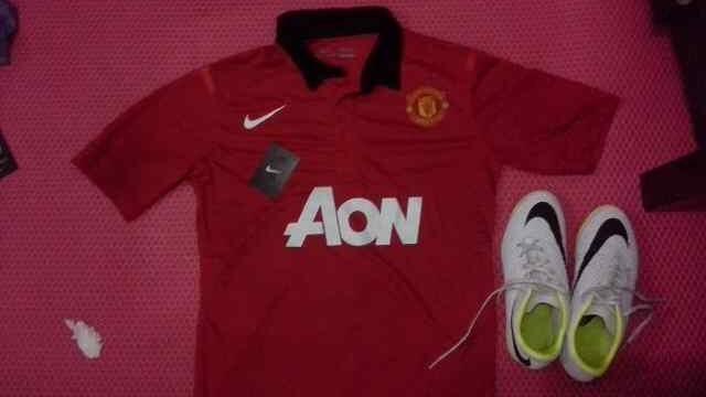 [JUAL] Sepatu Futsal NIKE Hypervenom Phenol White size: 42 (second) + bonus jersey