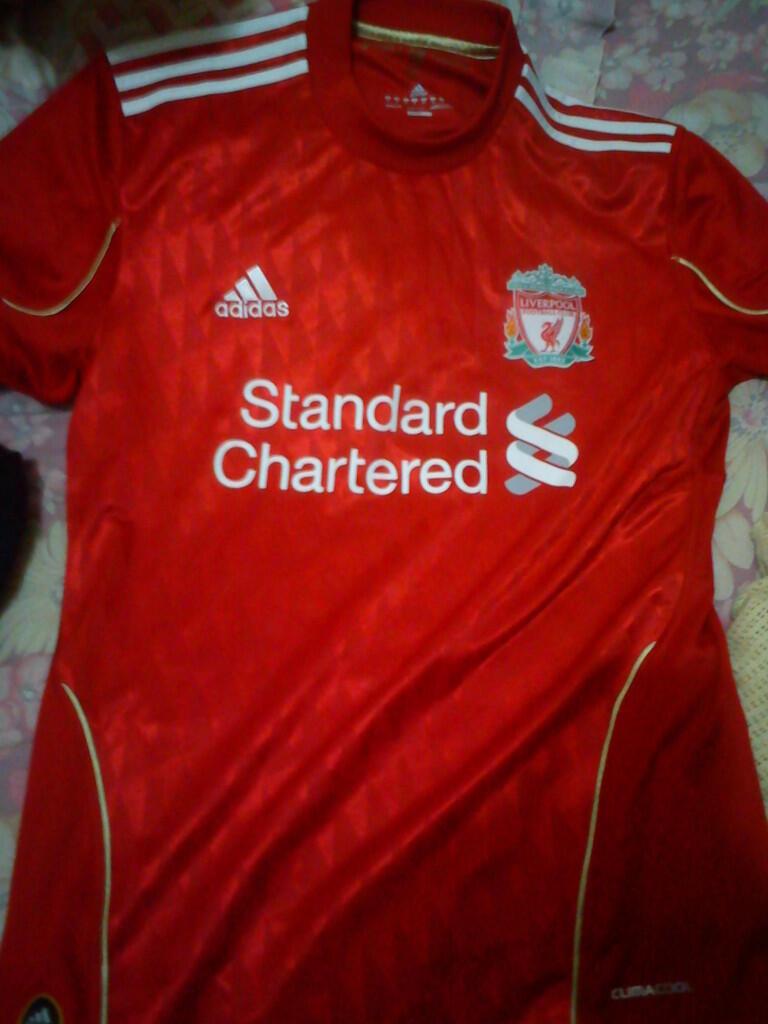Jersey Original Liverpool 2011 - 450rb - Jual Cepat!!