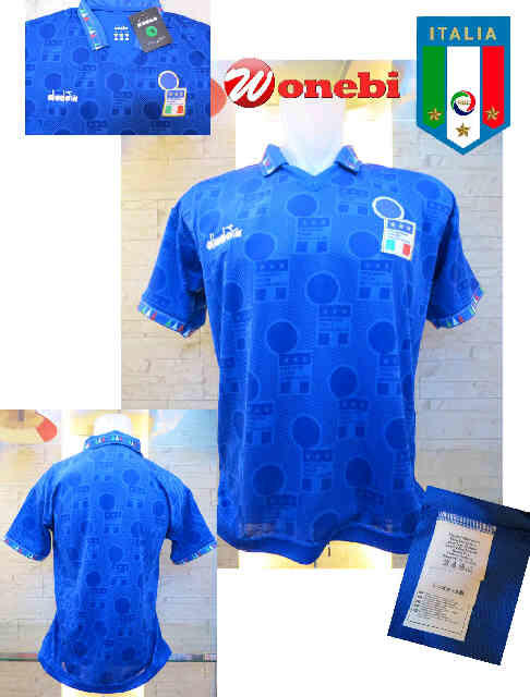 Jersey Italy Home 1994