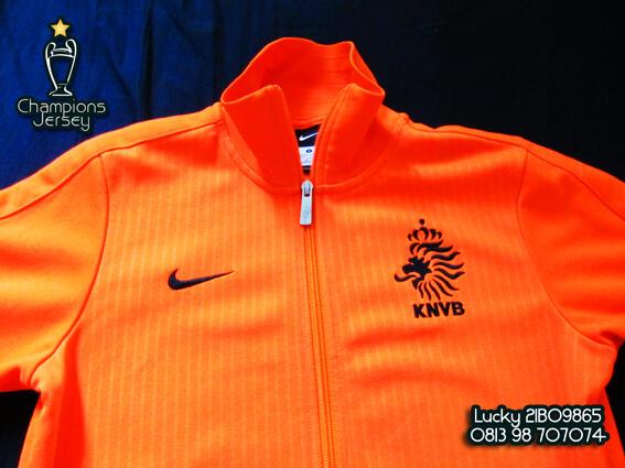 Jaket Belanda Netherland N98 Original / Authentic Jacket, Real Madrid Portugal Jersey