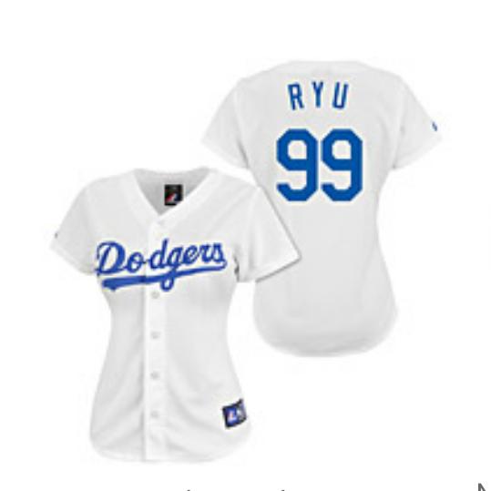 woman's jersey baseball 99 LA Dodgers