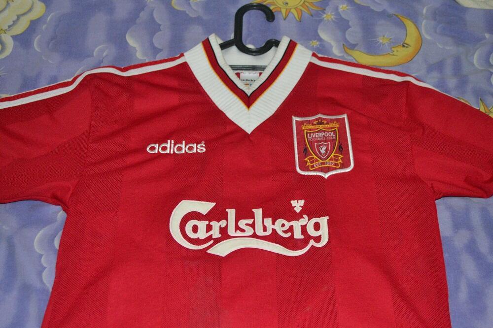 Jual Home Liverpool 1995 Original Size M