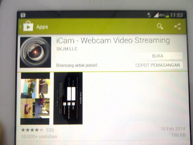 Cara menjadikan WEBCAM pc utk CCTV (bisa pantau online dari Tab Android)