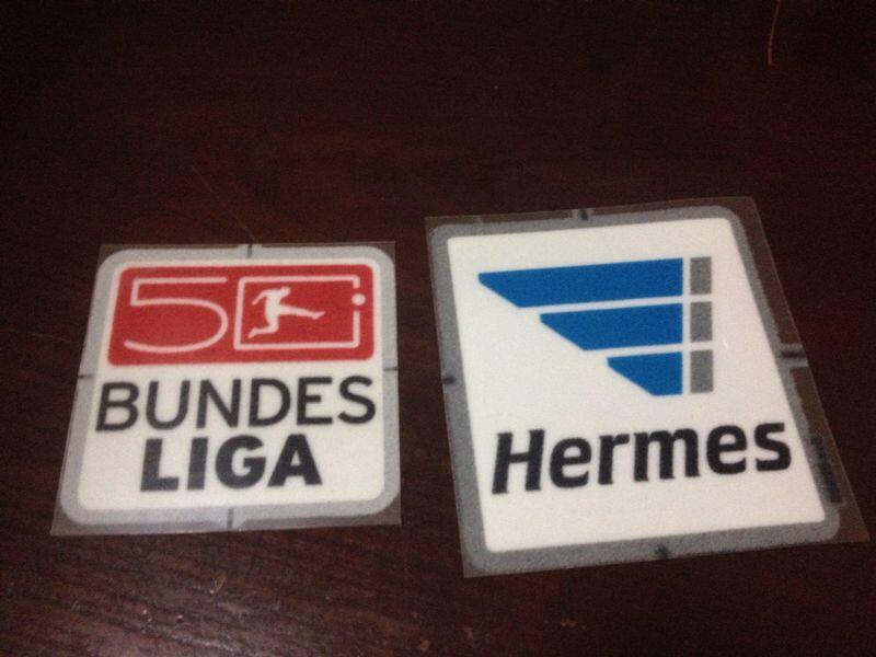 WTS Patch Bundesliga dan Patch Hermes Original