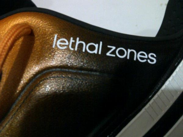 Sepatu Bola ADIDAS TOPGRADE LETHAL ZONES FG size 41 2/3