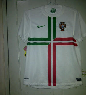 WTS jersey Portugal away 2012 euro