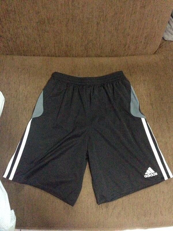 Sell celana gym/futsal reebok + adidas 2nd 99% like new 100% ori