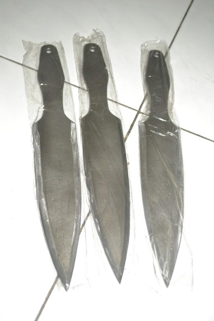 Pisau Lempar : Throwing Knife : Olahraga
