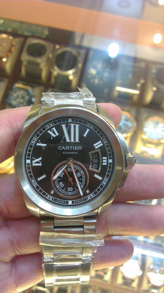 Terjual JAM TANGAN PRIA CARTIER CALIBRE GRADE AAA+++ PREMIUM QUALITY ... 5afc2776c9