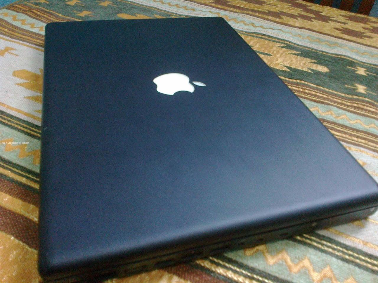Macbook Black 1.1 Core Duo/2g/250g/ Baterai 3 Jam