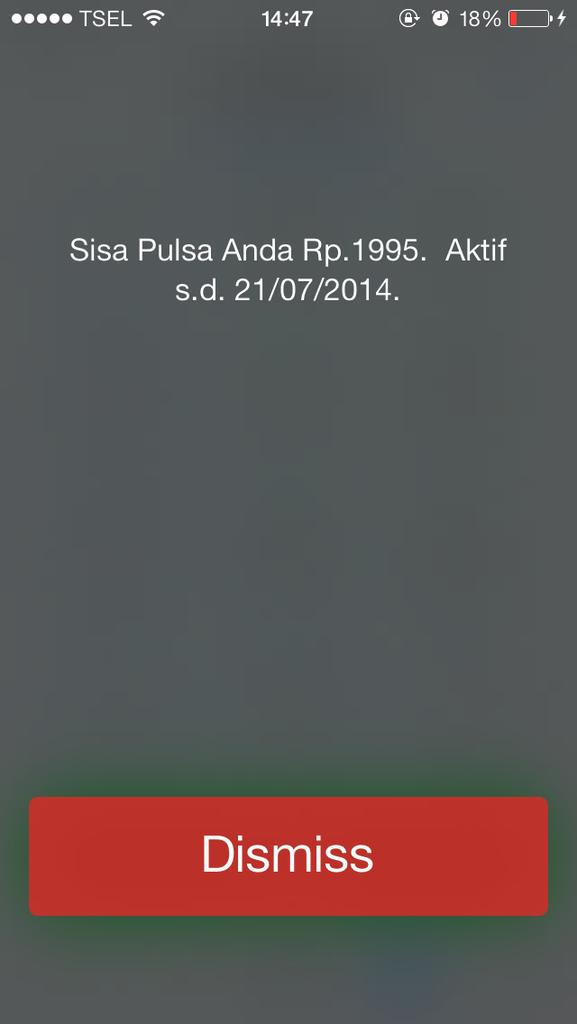 Cara Cek Pulsa / Aktifkan Fungsi USSD Pada iphone SU (Software Unlock) rsim/heicard
