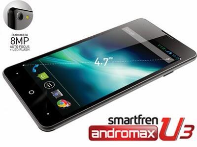 Smartfren Andromax U3. Black
