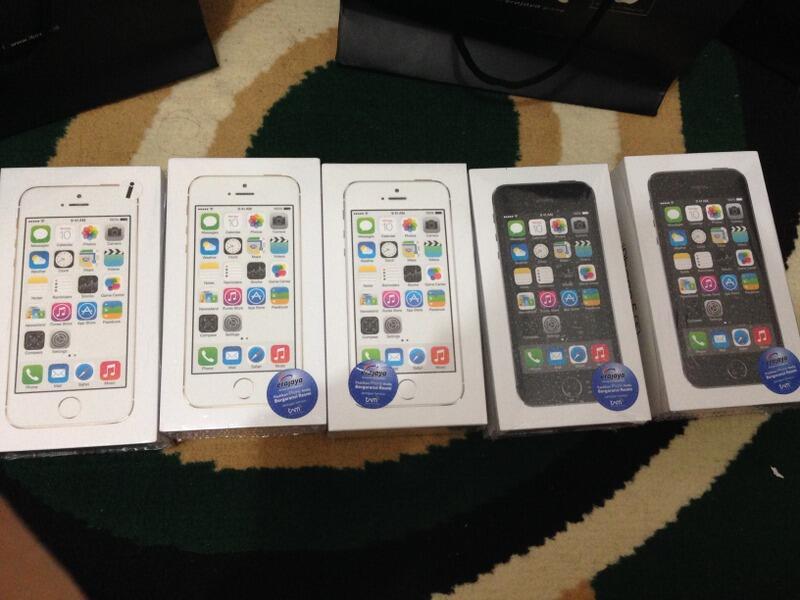 WTS NEW BNIB iPhone 5s 16GB Garansi Resmi SES (iBox) 1thn Harga Anjlok! COD Bandung !