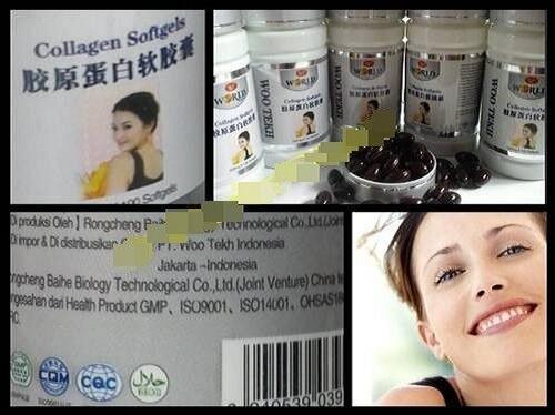 Collagen Softgel (Memutihkan, Mengencangkan dan Menghaluskan kulit)