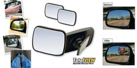 Total View Spion Tambahan Utk Maksimalkan Penglihatan Ketika Mengemudi