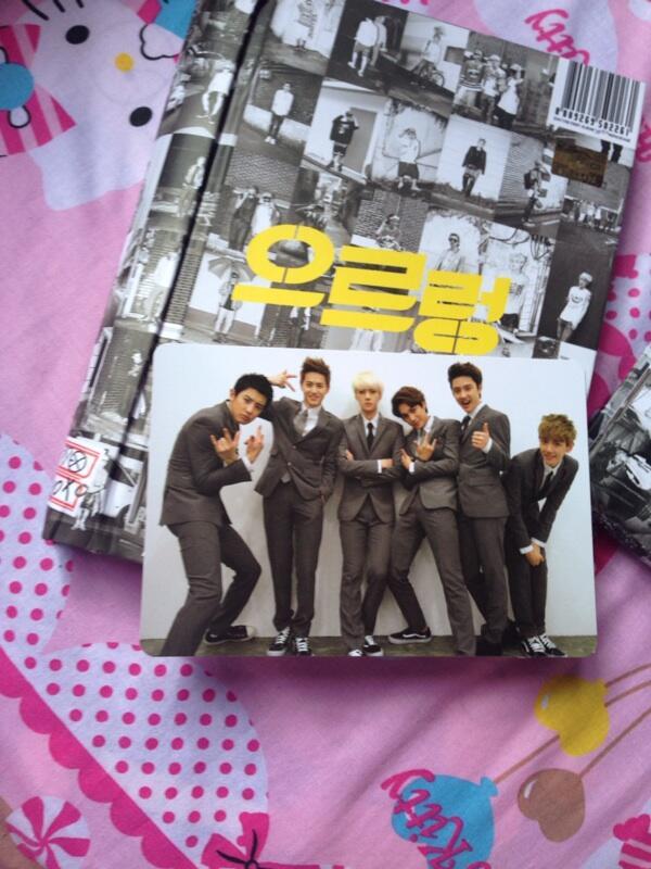 Sell/wts/jual exo album dan photocard kpop Kai kris chanyeol baekhyun chen suho
