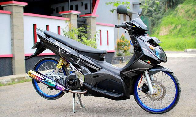 Terjual Wts Yamaha Nouvo Z Modifikasi Thailand Style Carbon