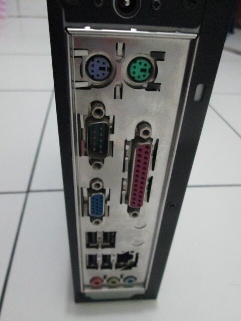 Casing mini PC + Mainboard D425 mini ITX + Adaptor 12V
