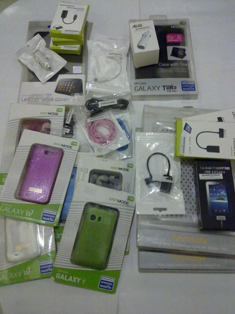 Aksesoris SAMSUNG Galaxy Tab/Note/SII/S3 | vehicle Kit,Desktop dock,Charger,Case,dll
