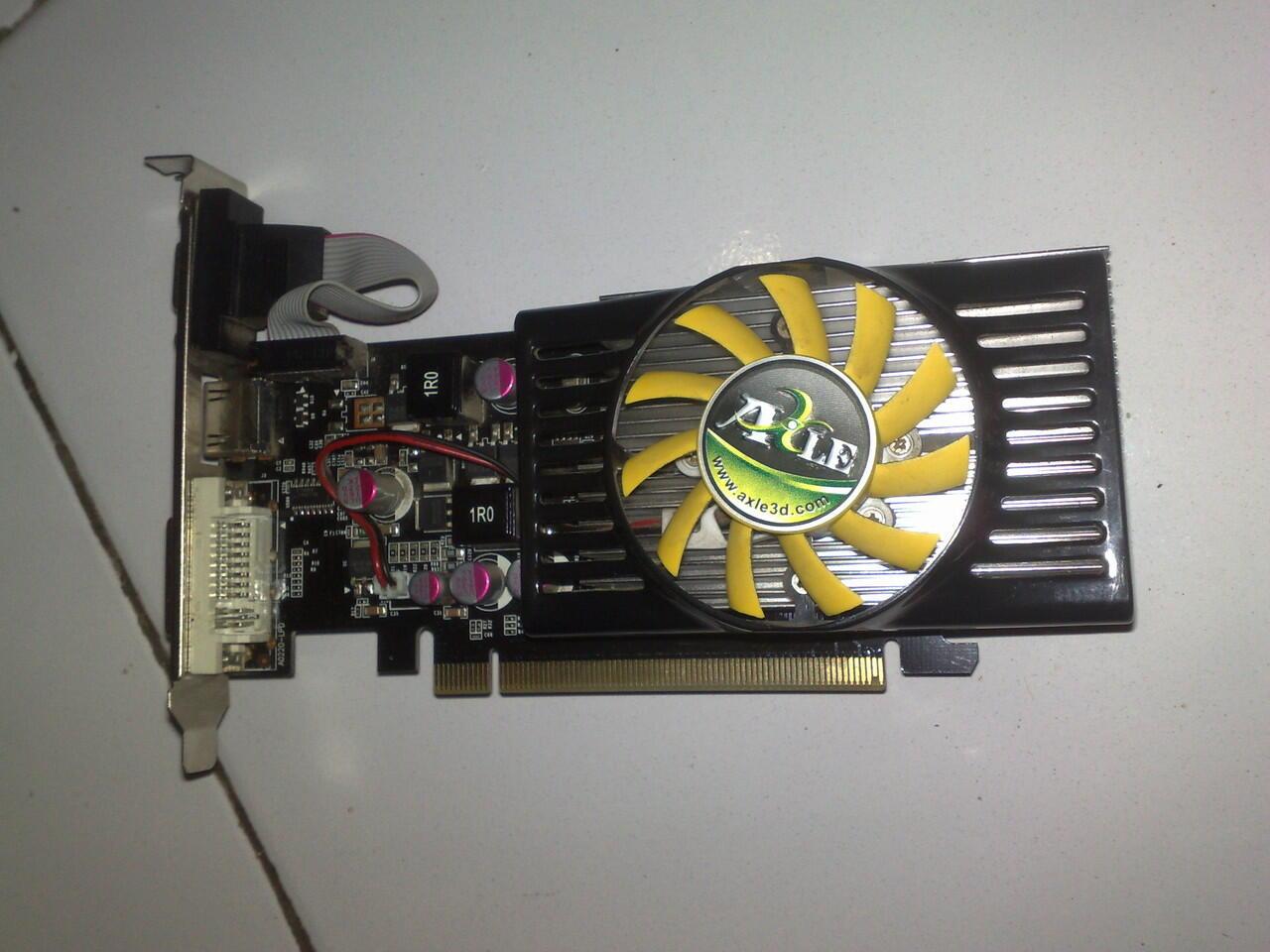 Vga Card Pcie Axle 1gb 128bit Ddr3