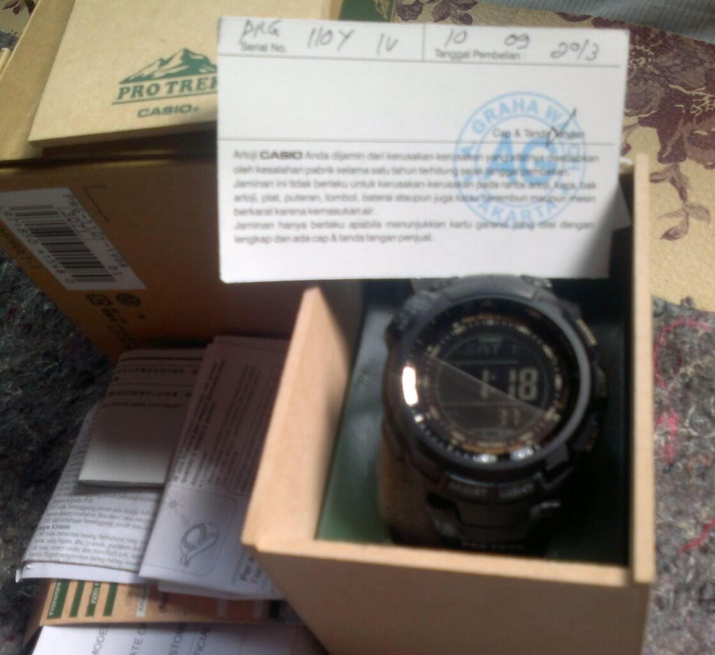 Terjual jual jam tangan casio PROTREK PRG-110Y  b0c498d2dc