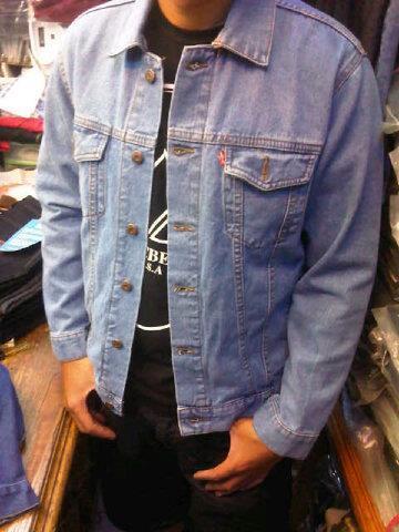 Terjual Jaket Jeans Levis Dan Levis Hoodie Warna Hitam