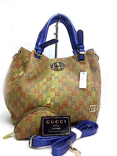 Terjual Tas Wanita Gucci Cervo Shine Set Pouch Bahan Kanvas Kw Super ... b1fa05753a