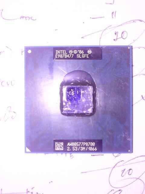 WTS Prosessor Notebook intel Core2duo E907B477 SLGFE 2.53 Ghz