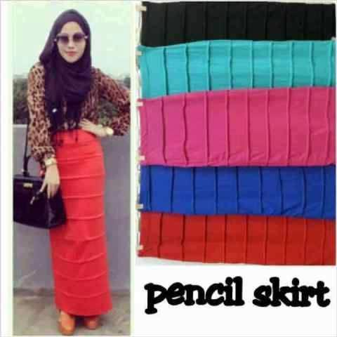 Pencil Skirt - Rok Pensil