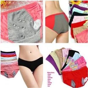 Celana Dalam Anti Bocor Khusus Menstruasi / Menstrual Panties / Cd Mens