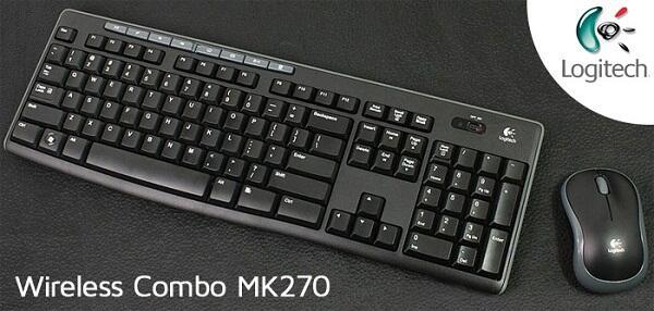 [MVPcomp] READY STOCK Gaming Combo Mouse + Keyboard Logitech MK 270 Garansi Resmi