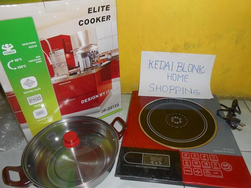 Dijual Kompor Induksi Elite Cooker Design Italy 1 Tungku Touch Srceen Termurah