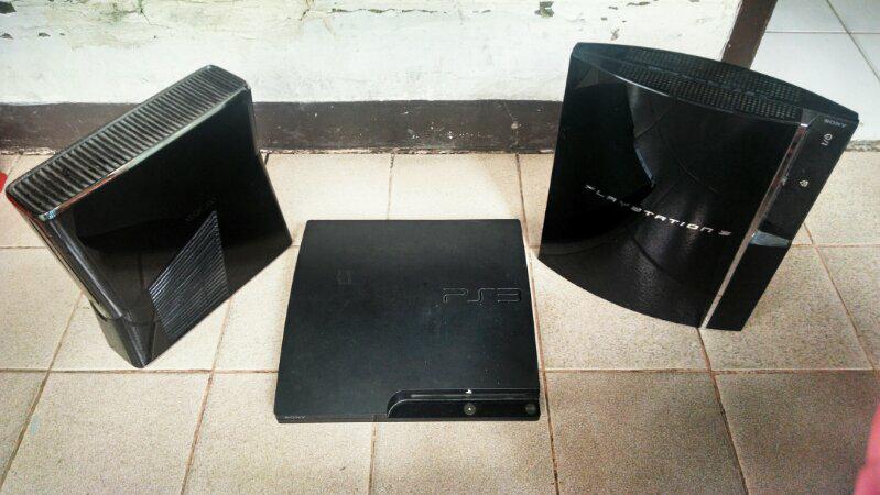 [WTS] playstation 3 fat, playstation 3 slim dan xbox 360 slim