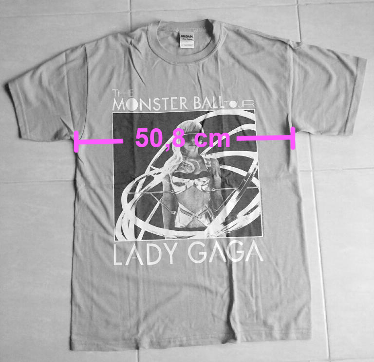 Lady Gaga T shirt,kaos, jarang!! ORI