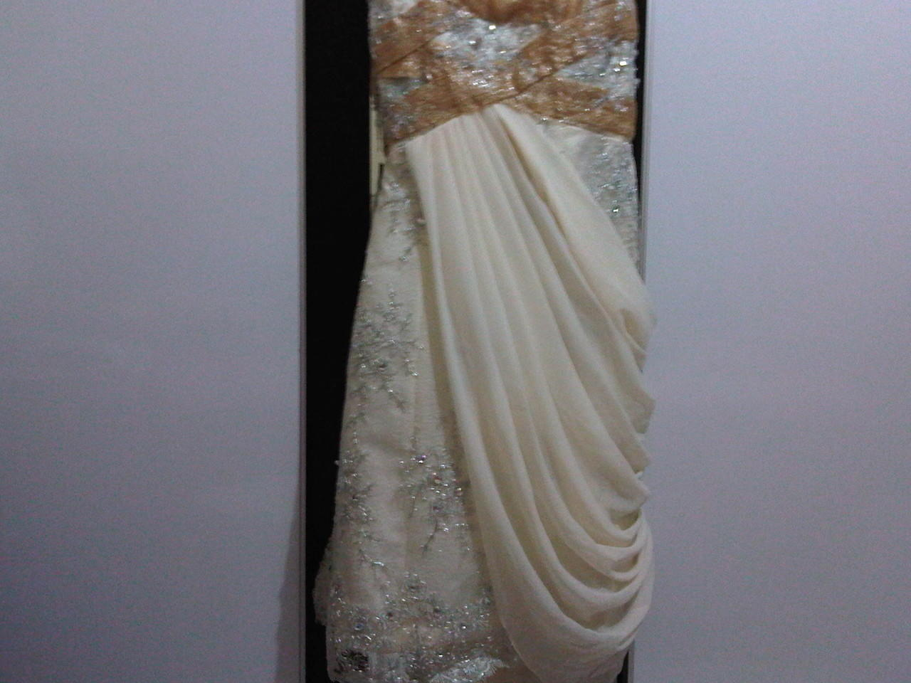 Gaun Pengantin / Pesta 6 in 1 & Tas LV Super