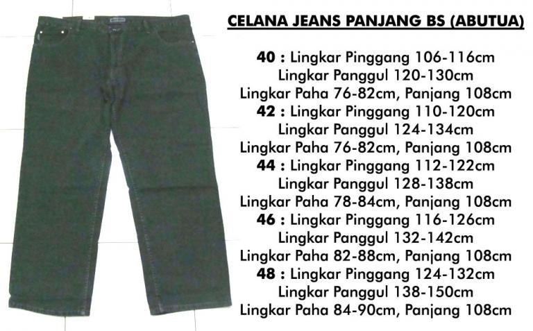 MURAH BIG SIZE co-ce katun-kanvas-jeans-kemeja-kaos TUTUP LAPAK