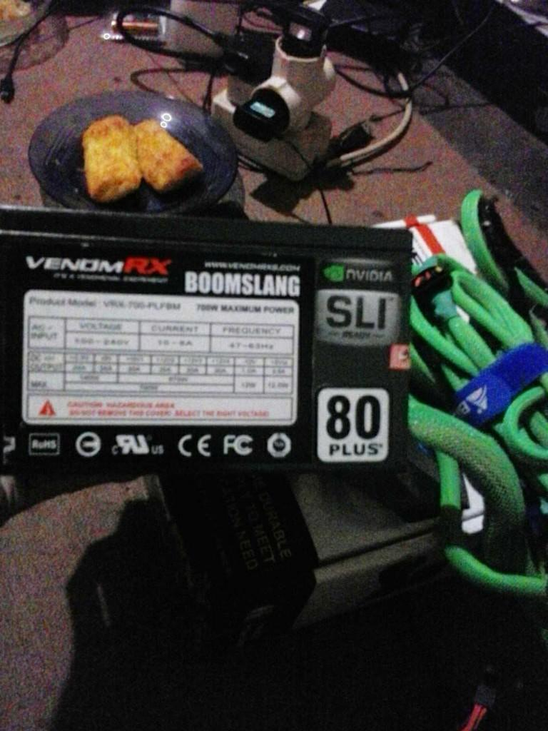 PSU POWER SUPPLY VENOM RX BOOMSLANG 700W 80+ MODULAR