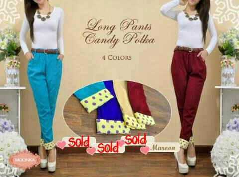 Long Pants Candy Polka