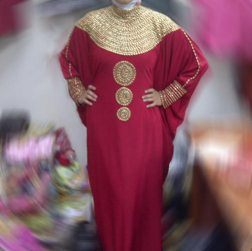 Dress Pesta Kaftan Ashanti