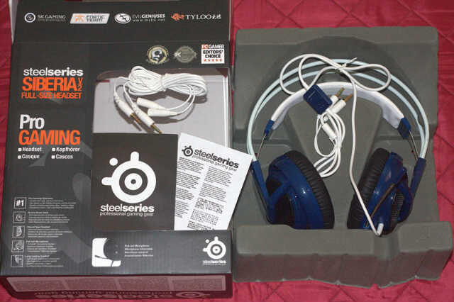 Headset SteelSeries Siberia v2 PROMO BANDUNG (BARU) ORI