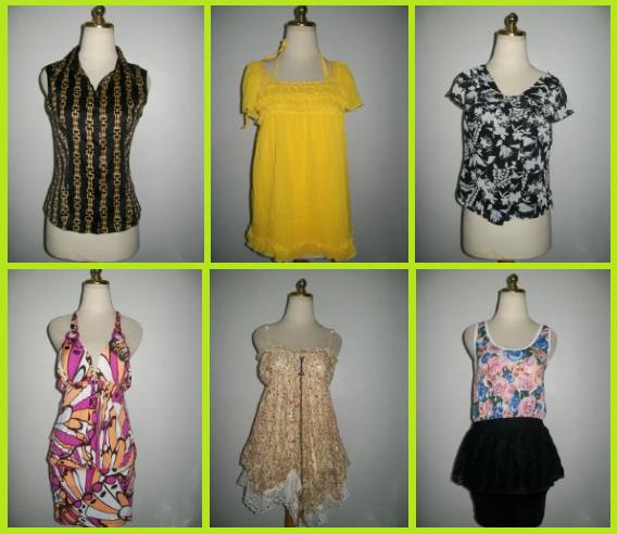 BAL Atasan Blouse Dress Second Import