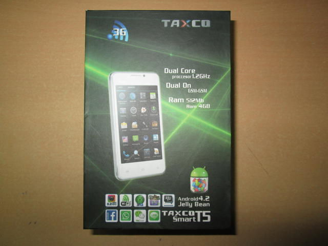 hape canggih murah, TAXCO T5, android jelly bean (support bbm)