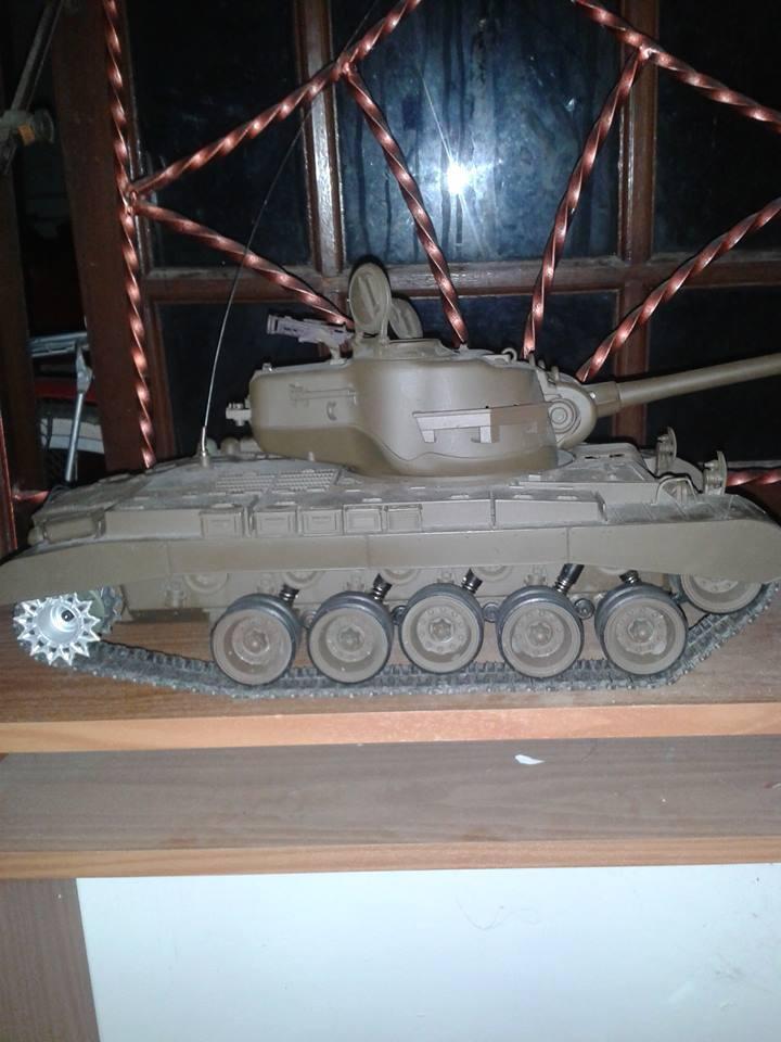 RC tank m26 pershing