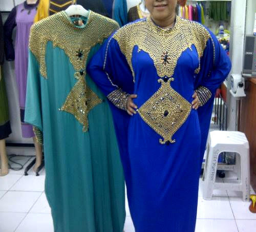 Dress Pesta Kaftan Giselle