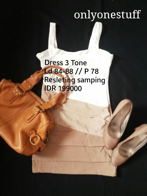 Jual Dress Ready Stock New and Real Picture MURAH