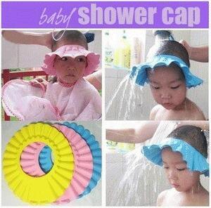 Topi keramas anak/ kids shower cap