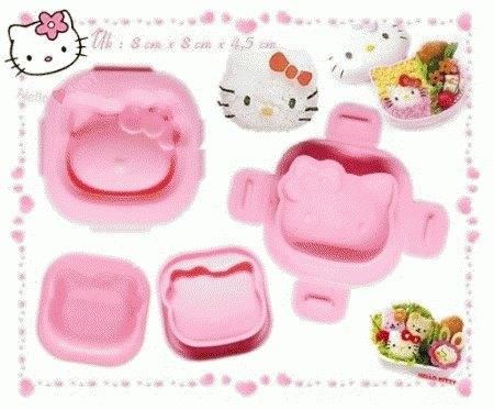 Cetakan Nasi Hello Kitty