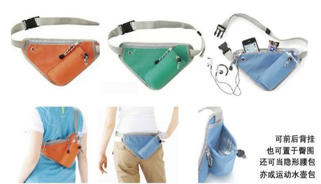 Triangular Waist Bag