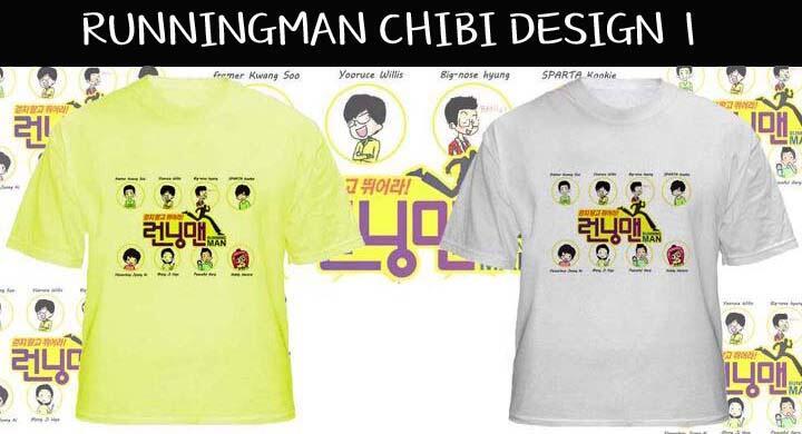 Jual T-Shirt dan Jaket dari Acara Korea Running Man